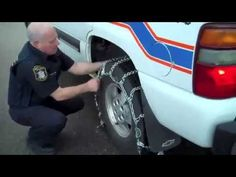 Safety First: 8 Steps to Installing Winter Tire Chains Winter Tyres, Driving Tips, Ski Season, Safety First, Snow Plow, Chains, Skiing, Monster Trucks, Seasons