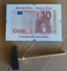 Money gift - in case of emergency, break glass