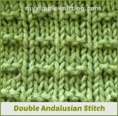 Double Andalusian Stitch