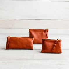 Deerskin Medium Pouches | Guideboat Company