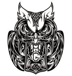 Owl tattoo vector 605598 - by gashishs on VectorStock®