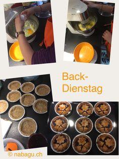 Back-Dienstag Muffin, Breakfast, Food, Tuesday, Bakken, Simple, Morning Coffee, Eten, Cupcakes