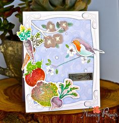 PTI June '16 Blog Hop using Sring Woods & Garden Medley.
