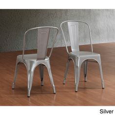 Nelson Industrial Modern Rustic Cross Back Dining Chair by iNSPIRE