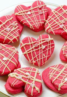 Valentine Shortbread Cookies  | World Recipe Collection