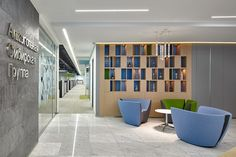 Apple chairs at Alcohol Siberian Group headquarters