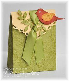 Mainly Flowers Independent Stampin' Up! Demonstrator Joanne Gelnar: Little Bird Gift Bag