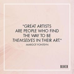 "Morning #Motivation: ""Great artists are people who find the way to be themselves…"