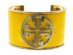 Tory Inspired Cross Cuff Bracelet! Yes, perfect eye candy that can be bought at https://www.etsy.com/listing/207275823/tory-inspired-cross-cuff-bracelet-cream?ref=listing-shop-header-2