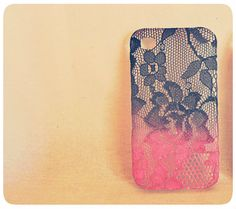 do want!when the miracle of shipping to Latvia will happen... Ombre Iphone Lace Case Lipstick and Lingerie