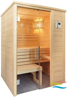 Infrarot Sauna, Sauna Room, Mini Sauna, Sauna Design, Outdoor Sauna, Elizabeth City, Magical Home, Kabine, Home Spa
