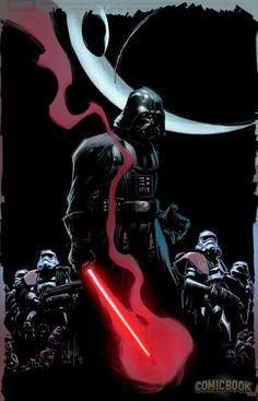 Vader by WhilcePortacio via Livio Ramondelli