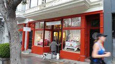 Sue Fisher King, another great home decor shop / Martha Stewart in San Francisco