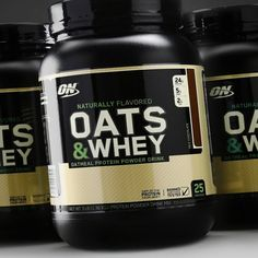 Oats and Whey are fundamental elements of an athlete's diet. Naturally low in sugar, Oats supply slow-burning complex carbohydrates, and hunger-filling dietary fiber. Optimum Nutrition Whey, Gold Standard Whey, Sources Of Dietary Fiber, Whey Protein Concentrate, Complete Protein, 54 Kg, High Fiber Foods, Bodybuilding Supplements, Natural Peanut Butter