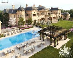 Dream house exterior mansions luxury architecture 9 - www. Mansion Homes, Dream Mansion, Mansion Interior, Classic House Design, Dream Home Design, Big Mansions, Luxury Mansions, Luxury Homes Dream Houses, Dream Homes