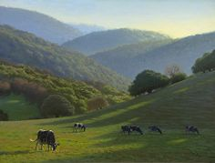 Silveira Ranch Spring - Oil  by Carol Peek