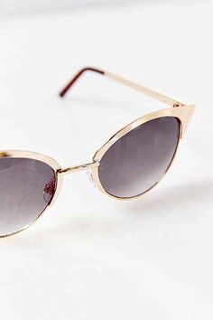 Speed Demon Metal Catmaster Sunglasses - Urban Outfitters