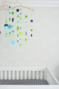 DIY Twig Mobile - such a cool DIY project from Young House Love!