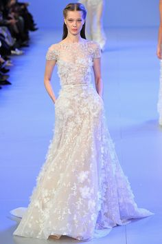 Elie Saab from Couture Spring 2014 in Paris