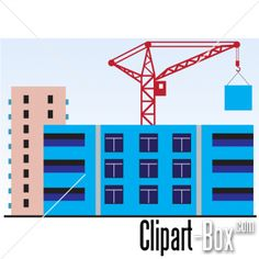 CLIPART BUILDINGS UNDER CONSTRUCTION