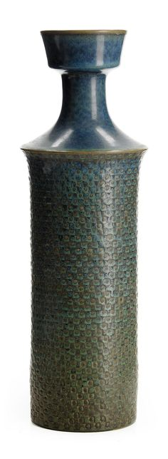 ** Stig Lindberg (Swedish 1916-1982), Glaze decorated Stoneware.