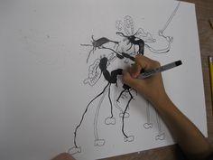 The Art Room at The Falcon Academy of Creative Arts: 4th grade art