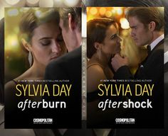Duology Jax & Gia by @sylvia_day special movie editions coming oct 30!... Movie: starring @caitlinleahy and @wtylerjohnson coming in Nov 3, 2017! from @passionflix I love it the covers!  Check the web of Sylvia: http://www.sylviaday.com/films/afterburn-aftershock/