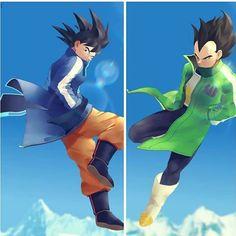 Goku and Vegeta Dragon Ball Z, Goku E Vegeta, Vegeta And Trunks, Samurai Flamenco, Dragon Super, Wolf Children, Epic Characters, Marvel, Anime
