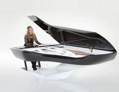 Ella Henderson for the new Peugeot Design Lab Pleyel piano l #piano