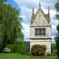 I stumbled across this during Bawburgh Open Gardens. It's an ancient monument, a folly, which was part of the Bawburgh Hall Estate, and yes it really is used as a garden shed. I need one in my garden!