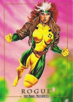 WHAT: Rogue 1992 Marvel Masterpieces DATE ADDED: 5.24.13