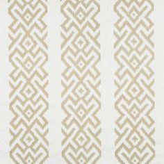 Robert Allen's Niko Key fabric in Sandstone  #fabric #design #upholstery