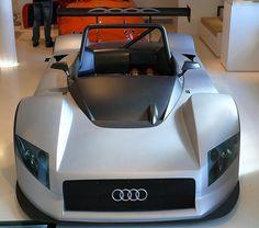 Audi R8R LMP Prototyp silver 1998 vh | by stkone