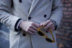 """Fifth picture in Fabio Attanasio's blog post """"MERANO COAT"""". Model: Fabio Attanasio."""