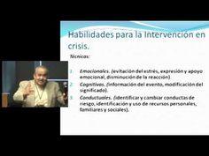 Habilidades de intervencion en crisis - YouTube