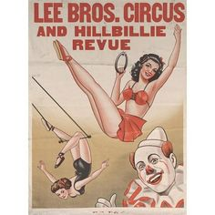 Lee Brothers: Aerialists Circus Circus, Vintage Designs, Vintage Inspired, Brother