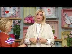 Çok kolay göz kamaştıran hırka yapımı - Derya Baykal - Deryanın Dünyası Crochet Winter, Knit Crochet, Knitting Videos, Knit Vest, Shawls And Wraps, Knit Patterns, Cardigans For Women, Sewing, Youtube