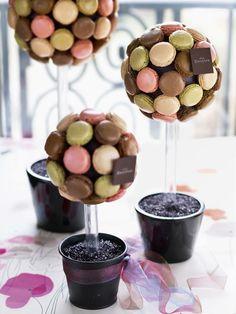 Arbre à macarons Dalloyau