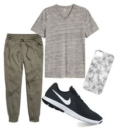 """Untitled #14"" by tamas-erdos on Polyvore featuring H&M, NIKE, Case-Mate, men's fashion and menswear"