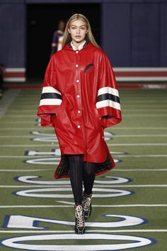 Winning style on the runway at #TommyFall15