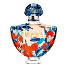 "Guerlain SHALIMAR SOUFFLE D'ORANGER EDT in or spray vials. "" Shalimar Souffle d'Oranger, an Eau de Parfum that celebrates orange blossom. The legendary Shalimar bottle is adorned with a colourful and sparkling outfit like a breath of joy and spring."