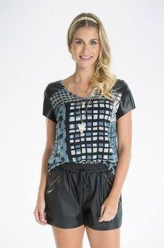 Gostaram ??   Blusa Tecido Estampado  COMPRE AQUI!  http://imaginariodamulher.com.br/look/?go=2fpAlwD