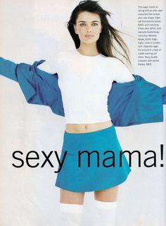 ☆ Paulina Porizkova   Photography by Robert Erdmann   For Marie Claire Magazine US   September 1994 ☆