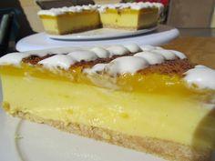 tarta de San José con thermomix, crema San JOsé con thermomix, tarta de yema thermomix, Dia del padre thermomix,