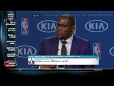 He Thanks God First and Then Makes His Mom Cry — Don't Miss Kevin Durant's Amazing, Humble NBA MVP Acceptance Speech