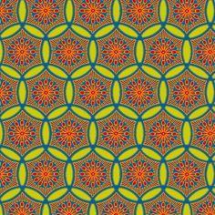 Shashiko Circle Primary School fabric by keweenawchris on Spoonflower - custom fabric