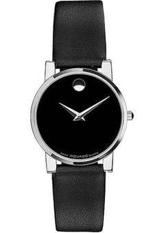 Movado Museum Moderno Men's Watch 0604230 - so simple!