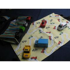 #ladybird2turtle #pinadayoct #olderboy $25.00 Toy Car Bag by cottonmemories on Handmade Australia