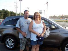 Bill and Judy Zimmerman of Corry, PA.  2010 Honda CRV
