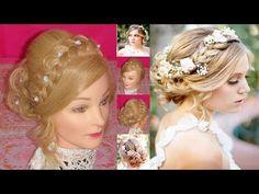 Peinado Facil para cabello corto   Peinados con trenzas   Peinados faciles y bonitos - YouTube